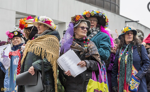 manif des femmes women's march montreal 17 | by Eva Blue