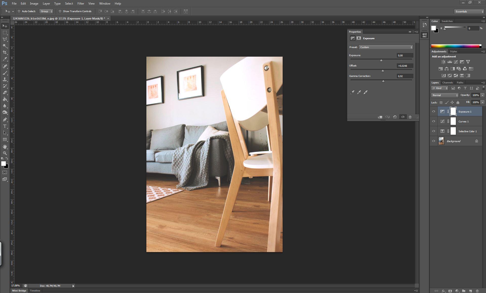filter look tutorial photoshop exposure