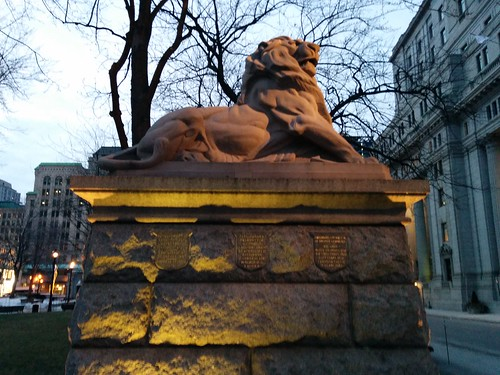 Lion of Belfort, Dorchester Square