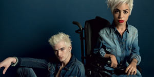 Disabled Woman Gets The Job As Model