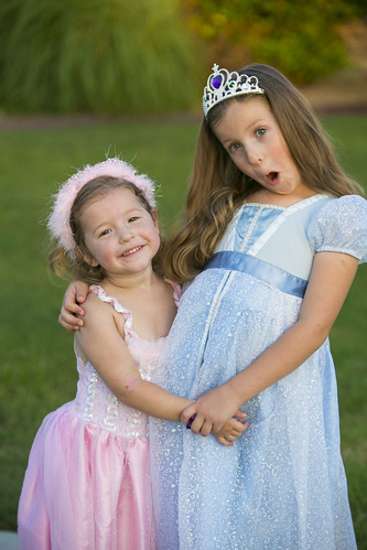 Girls Right Before Dakota Turns 3 years old