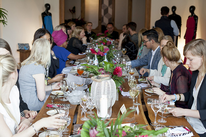 Event Foto Berlin Ebay Fashion Dinner Party Designerin
