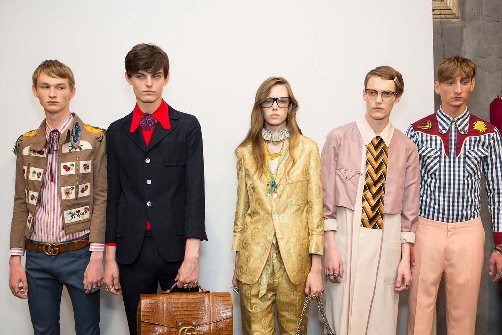 SS16 Milan Gucci250_Emil Hamkens, Charlie Adshead, Kristians Laizans, Tom Gaskin(fashionising.com)