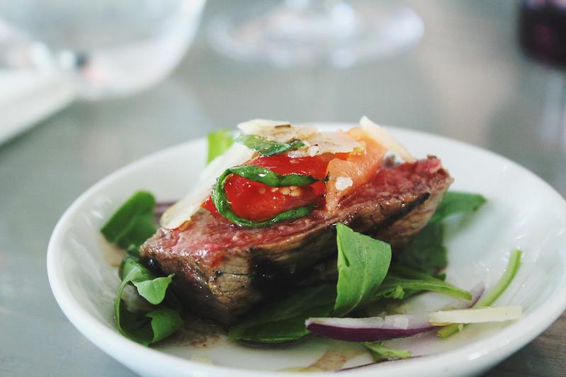Steak bites Strada