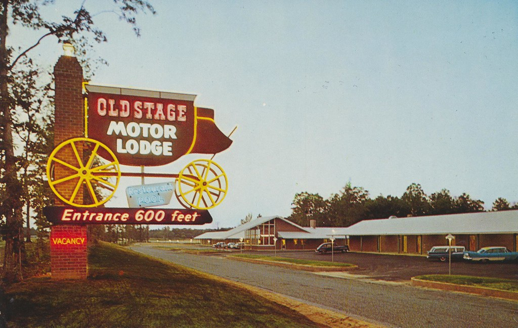 Old Stage Motor Lodge - Colonial Heights, Virginia