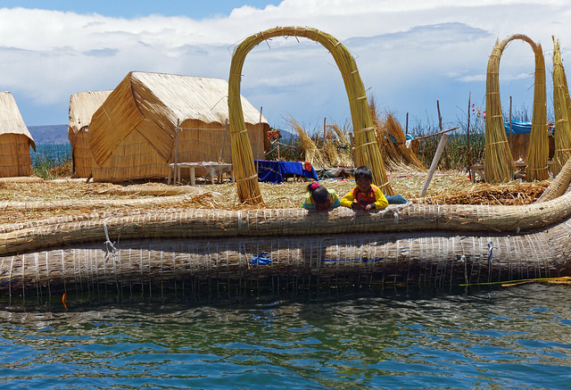 Uros Islands - isola Purimita