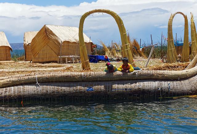 Wyspy Uros - wyspa Purimita