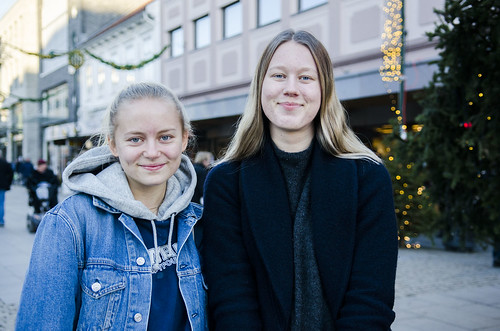Oda Sofie og Sofie blaudis