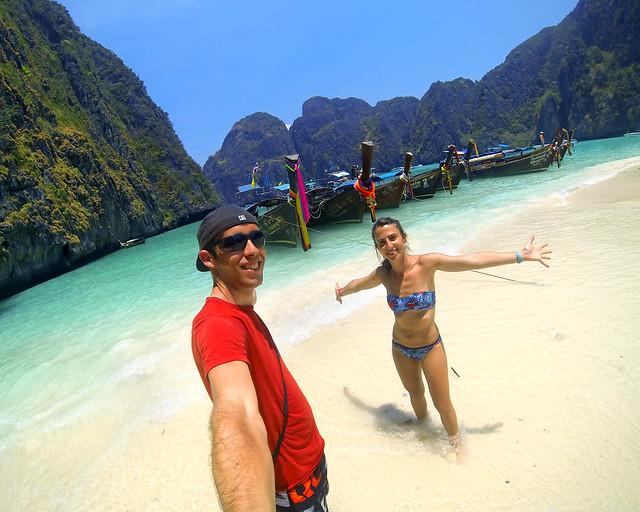 En Phi Phi Island en Tailandia