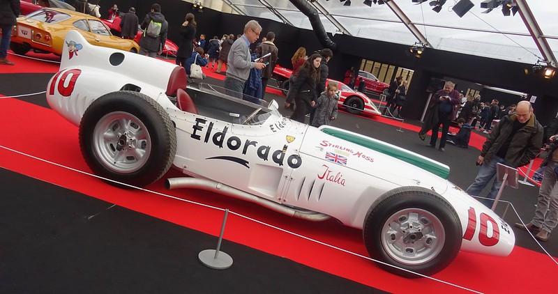 Maserati Eldorado 1958 Ex Strirling MOSS - Paris Invalides Fev 2017 31914930253_4338a779d4_c