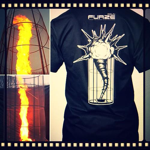 'Fire Tornado Rocket Launcher' #ColinFurze #EpicFireworks