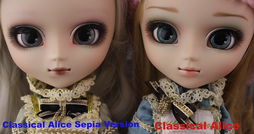 Classical Alice Sepia Version & Classical Alice comparison