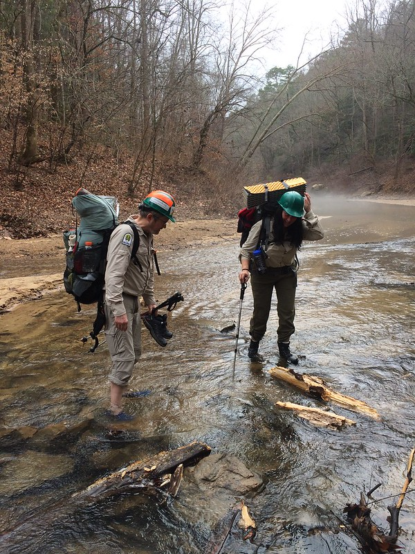 VWR Backpacking Trip January 2017