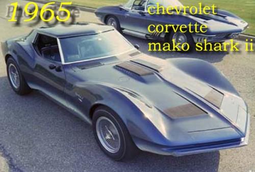 Chevrolet Corvette Mako Shark Kulitjr3 Flickr