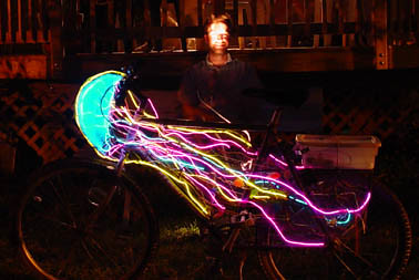 Jellyfish Bike I Made This Bike For Burning Man 2002