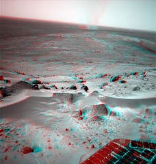 Spirit Sol 581 - Monster Dust Devil in 3D | by marscat
