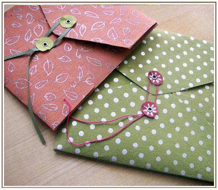 Handmade envelopes handmade envelopes that i made to go for Handmade paper craft ideas