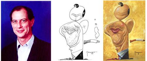 Resultado de imagem para caricatura ciro gomes