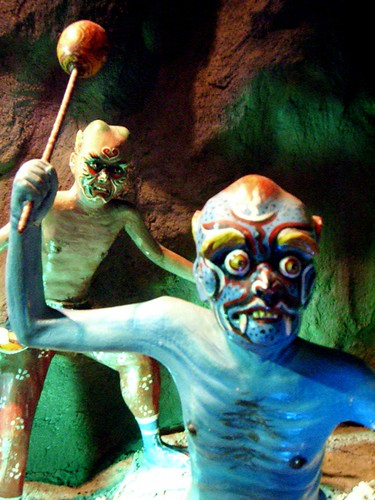 Demons in Buddhist Hell, Haw Par Villa (Tiger Balm Theme Park), Singapore | by gruntzooki
