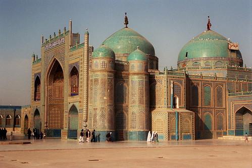 Shrine of Hazrat Ali   In Mazar e Sharif, Afghanistan.   Jennifer ...