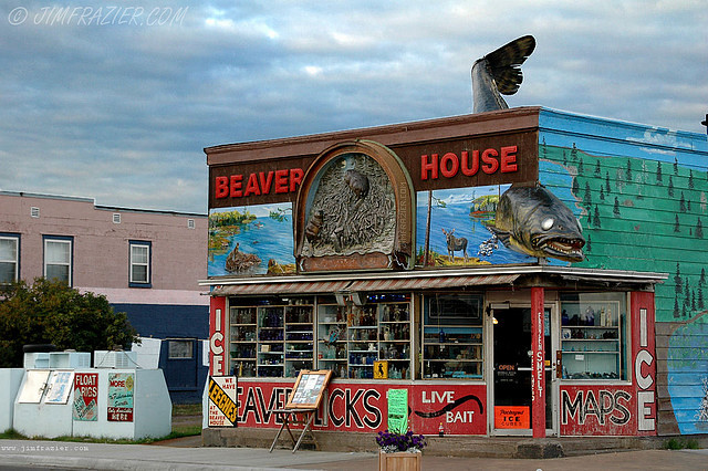 Beaver House Kate And I Were Wandering Around Downtown