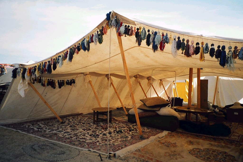 ... bedouin tent - retouched | by Beothuk & bedouin tent - retouched | A Photo from Estrella War 2004 reu2026 | Flickr