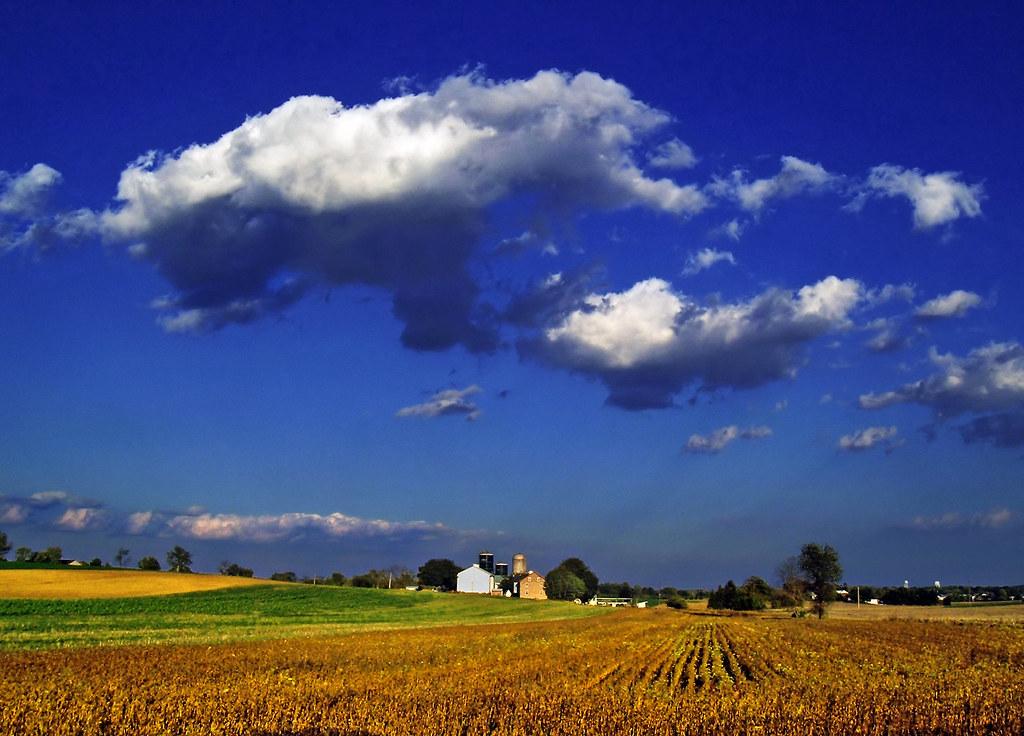 East Petersburg Pa >> Pastoral | Farmstead, East Petersburg, Lancaster County. | Nicholas A. Tonelli | Flickr
