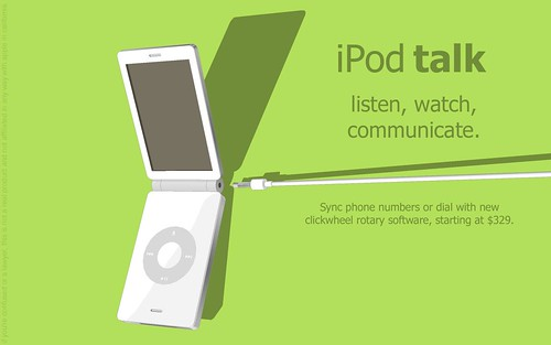 ipod talk | by biscuitus