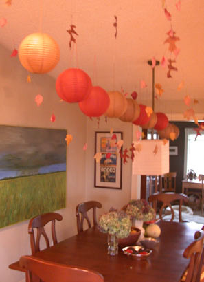Fall Ceiling I Hang These Elements With Fishing Line And