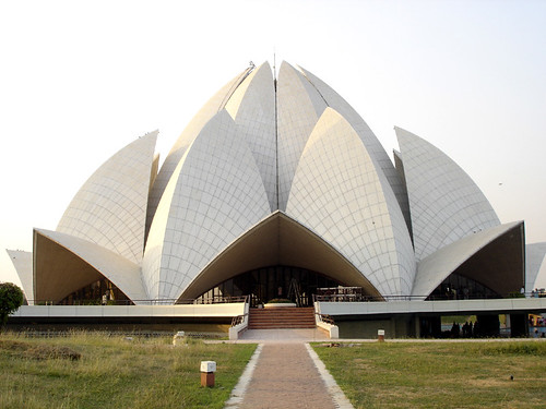 Lotus Temple in Delhi | by Just Another Coffee Break