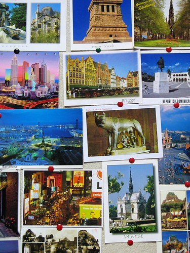 Postcard wall | by eperales
