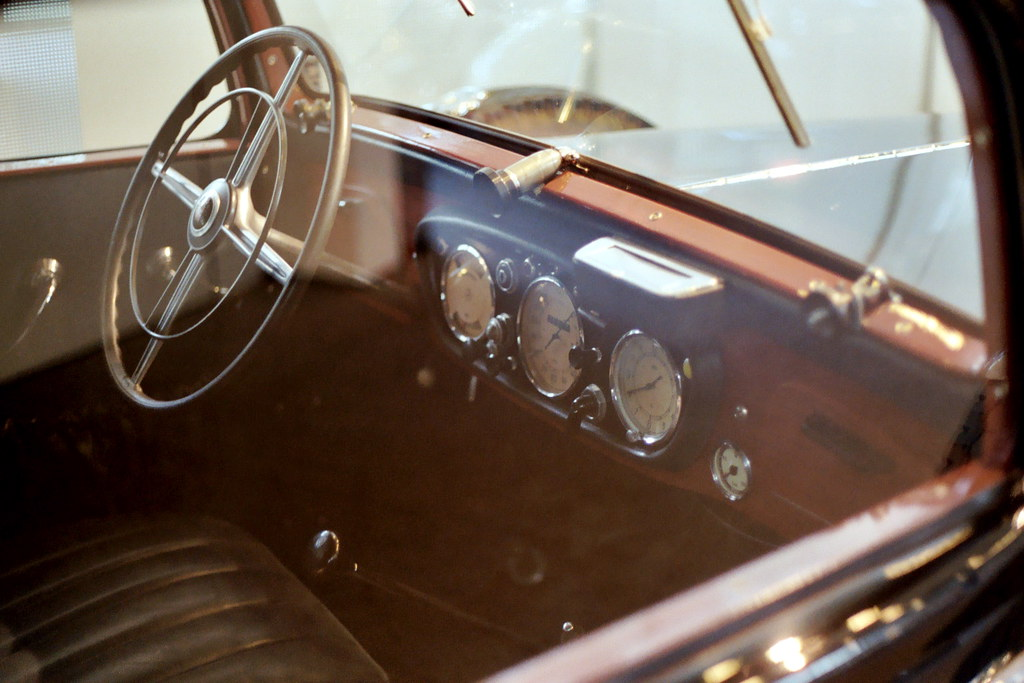 Mercedes 260d Pullman Interior Photographed In The