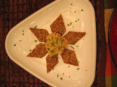 flax_seed_crackers_and_cashew_cheese | by tofu666