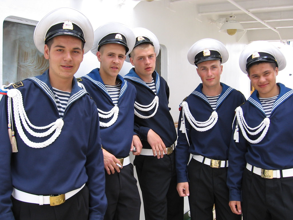 Everyone loves Russian sailors | From the Tall Ships Festiva ... Cigarette