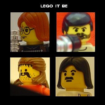 minifig album covers # 1: lego it be | by minifig