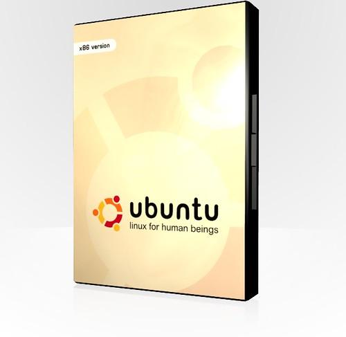 Ubuntu dvd case render a quick render of a dvd case for for Render case