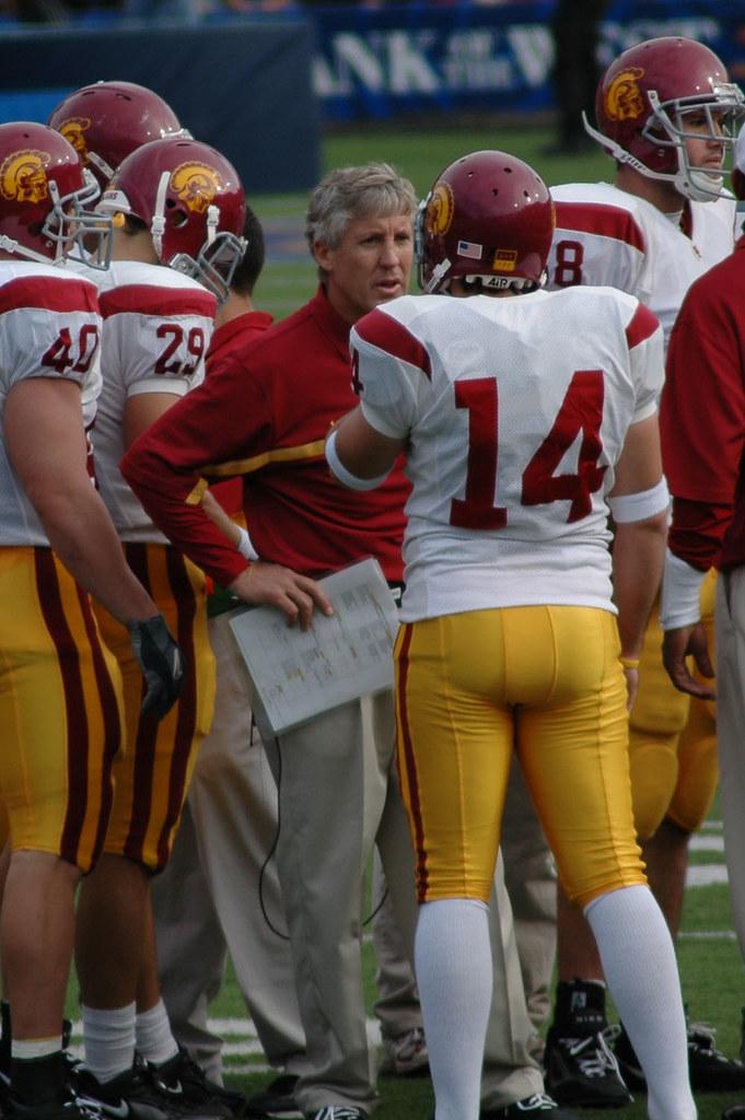 Pete Carroll (Cal vs USC - Nov 12, 2005)   Mike Doeff   Flickr