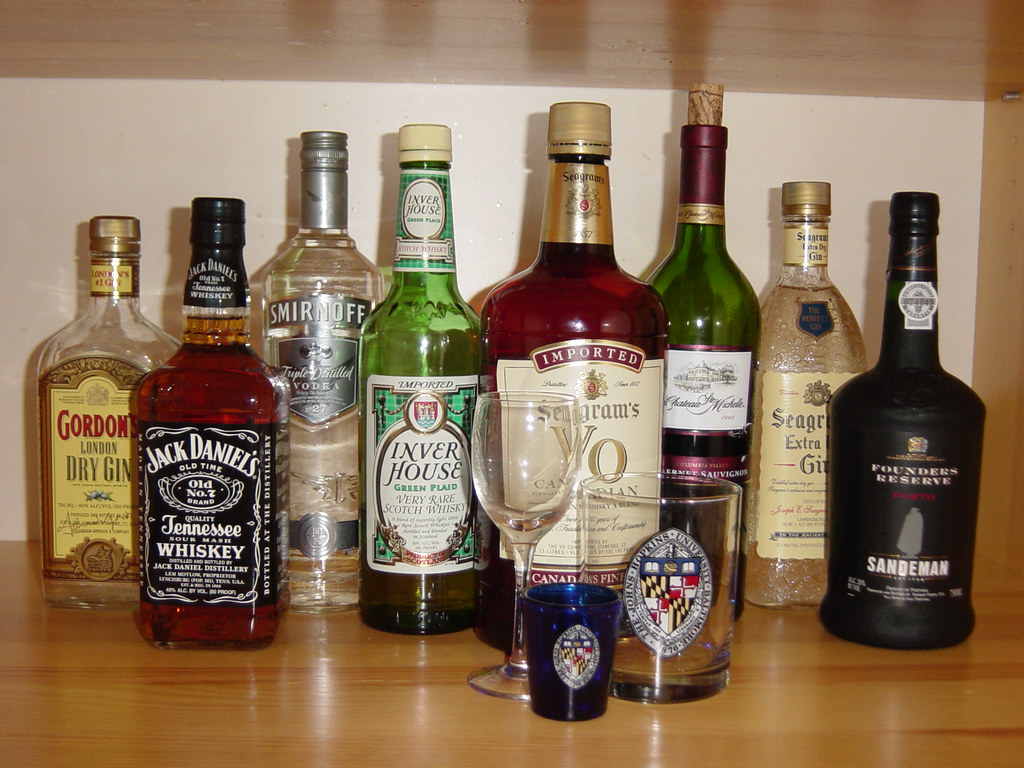 Liquor Cabinet | Desperately seeking a shot for the Alcohol … | Flickr