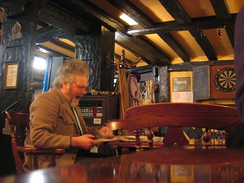 typical english pub with typical englishman | Sarah ...