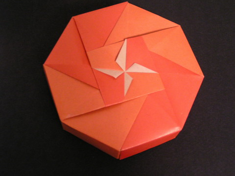 Octagon Box Small Flower From The Book Fabulous Origami Bo Flickr