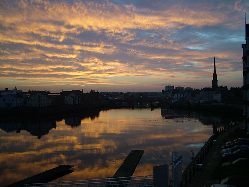View of Ayr Dawn from Flat | by PapillonUK