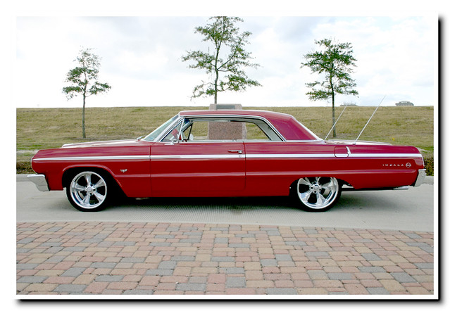 64 Impala Ss Side A Nice Clean Sweet Lookin 64 Chevy