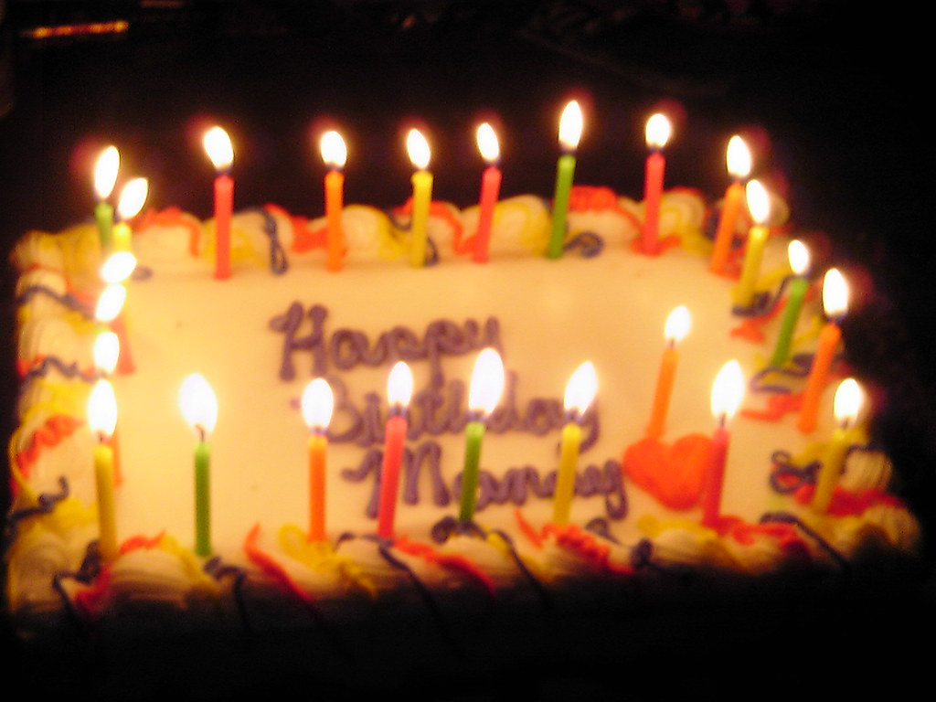 My 24th Birthday Cake Yep There Was 24 Candles Nope The Flickr