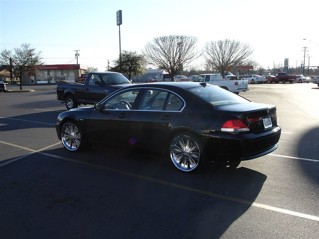Bmw 745 Li On Staggered 22 Asanti