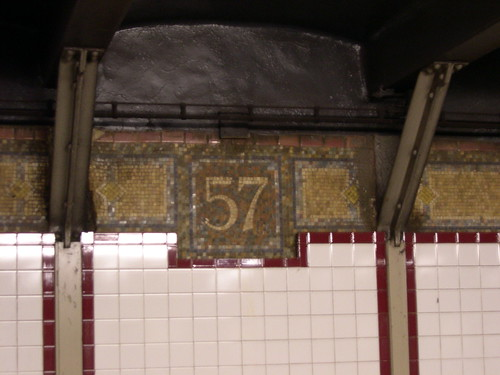 57th Street Station tile work | by Triborough