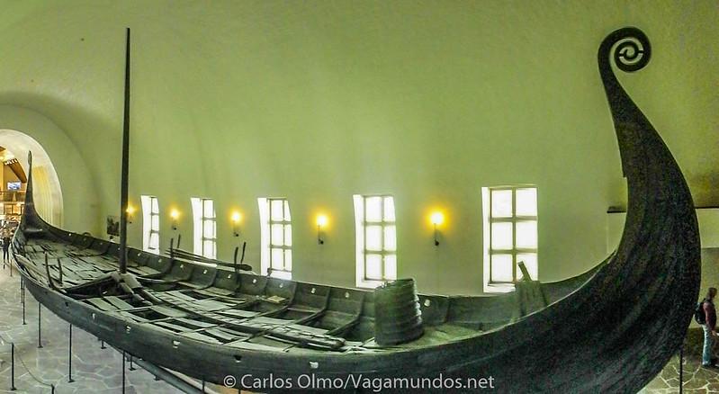 P9010955 Pano Noruega Oslo Bygdoy Museo de los Barcos Vikingos-2