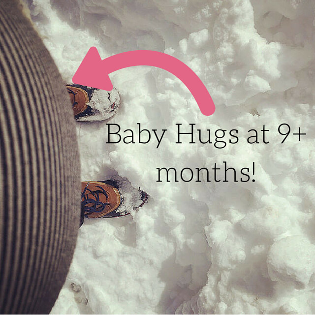 Baby Hugs at 9+ months!