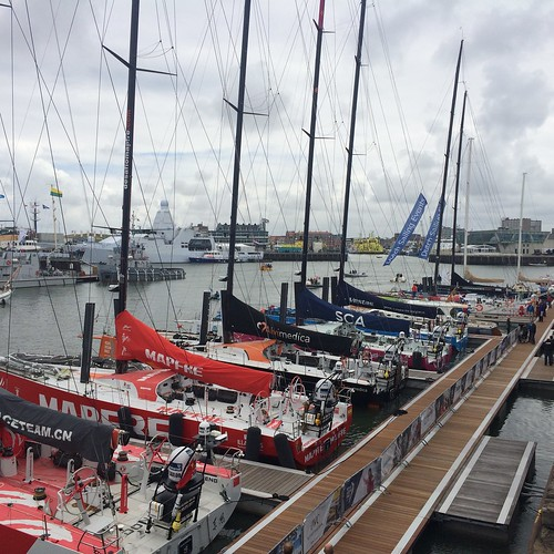 Volvo Ocean Race stopover in The Hague