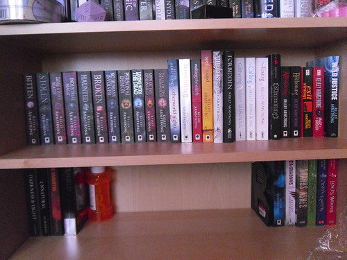 Kelley Armstrong shelf