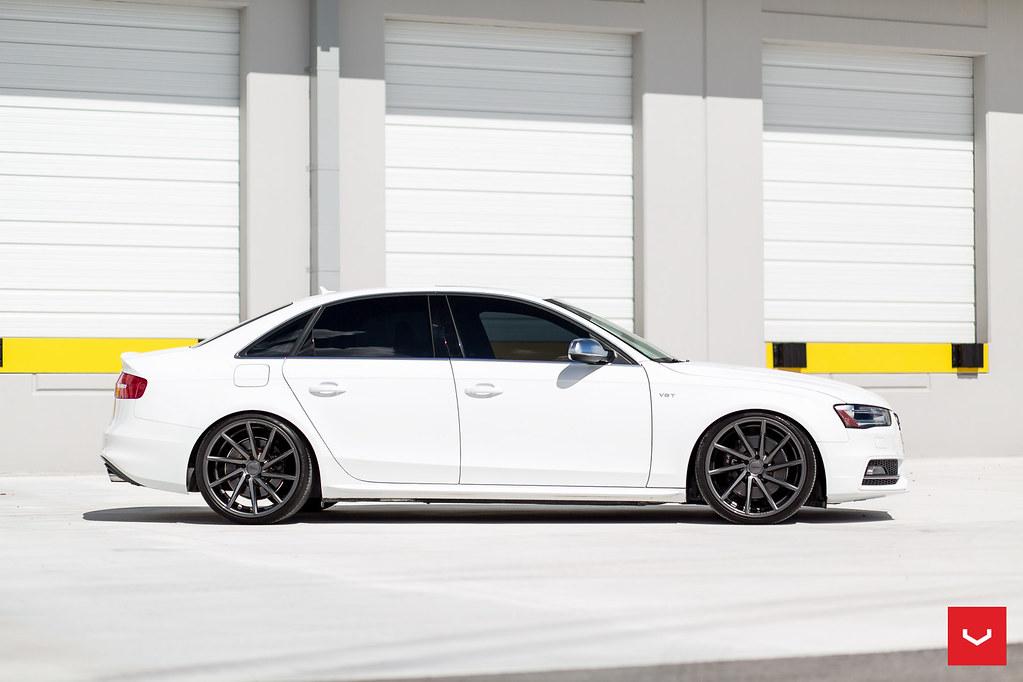 B8 Audi S4 20 Quot Vossen Cvt Gloss Graphite 169 Vossen Whee